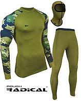 Спортивный комплект термобелья мужской Radical Shooter теплый, хаки L
