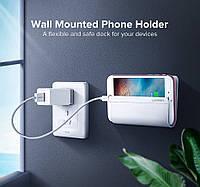 Настенный держатель Ugreen универсальный держатель телефона во время зарядки