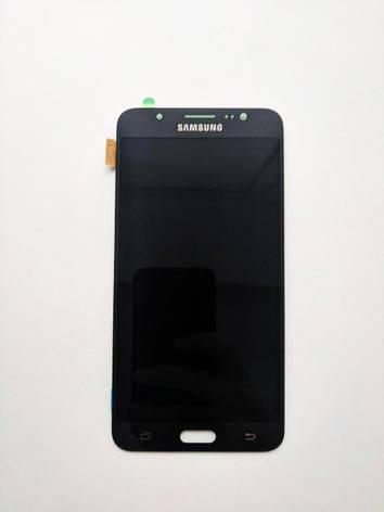Дисплей (LCD) Samsung J710F/  J710H Galaxy J7 2016 TFT с сенсором чёрный с регулировкой яркости, фото 2