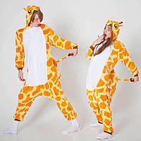 Кигуруми - Жираф - Одежда для дома - Пижама женская, пижама теплая Premium Velsoft