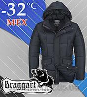Зимняя, мужская куртка Браггарт на меху  54 (XXL)