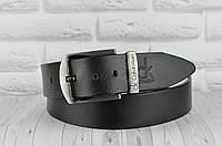 Ремень кожаный в стиле Calvin Klein (Келвин Кляйн) ТОП