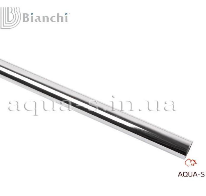 Трубка стальная хром Bianchi D 15x600 мм. для систем отопления (3859C06000) Италия