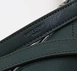 Сумка Ів Сен Лоран 23 і 31 см натуральна шкіра клатч, фото 5