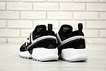 Мужские кроссовки New Balance 574 Sport V2 черные с белым замша. Живое фото. Реплика, фото 2