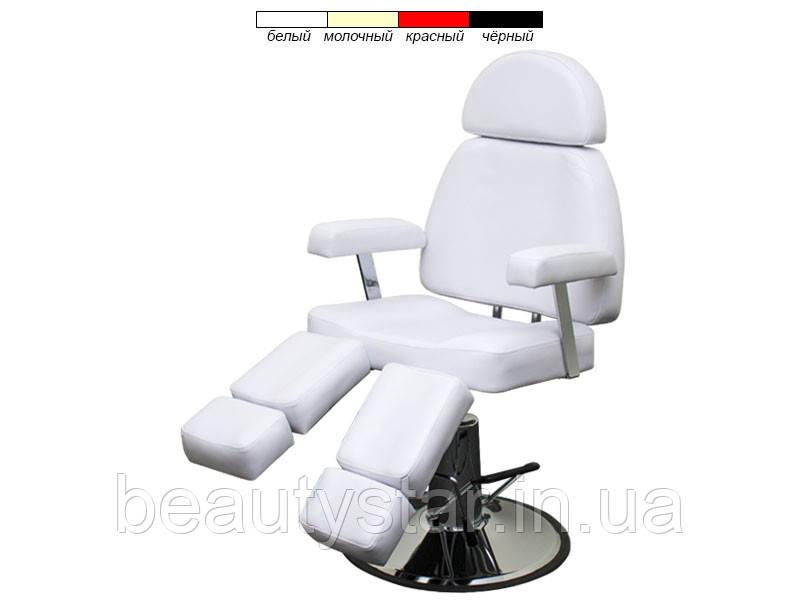 Кресло для педикюра с раздельными ножками на гидравлике мод.227В