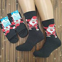 Мужские новогодние носки с махрой ТОП ТАП Житомир 25-27 ( 39-41) НМЗ-040480, фото 1
