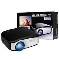 Портативный Full HD мультимедийный LED проектор C6TV