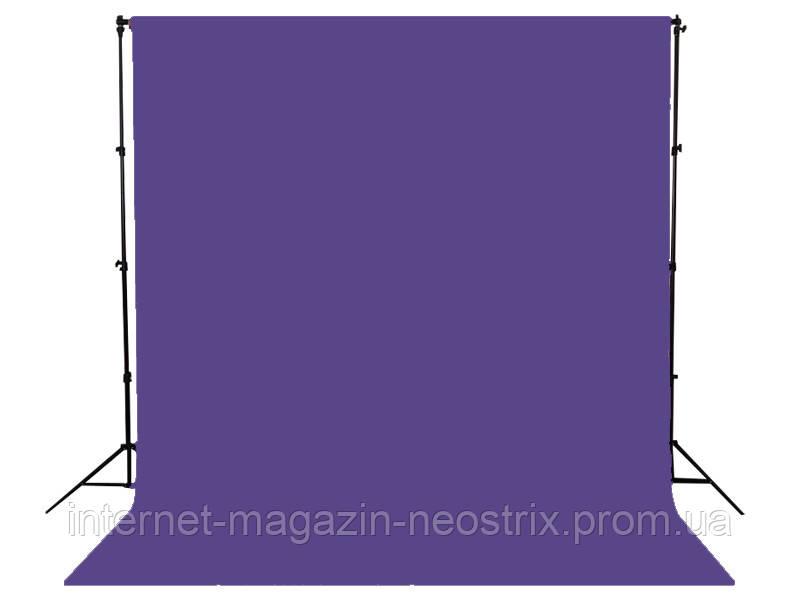 Студийный бумажный фон Visico 2,72х10 м (фиолетовый) 002 PURPLE