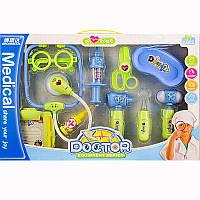 Набор врача в коробке BS8401A стетоскоп, очки, инструменты