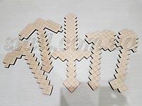 Набір розмальовка - інструменти Minecraft (набор раскраска - инструменты Майнкрафт)
