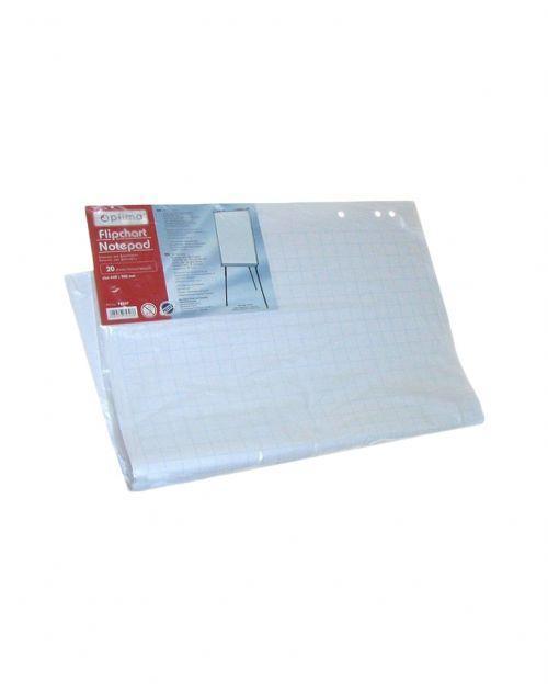 Бумага для флипчарта Optima, 20 л., Размер 640х900 мм, 70 г / м2, клетка