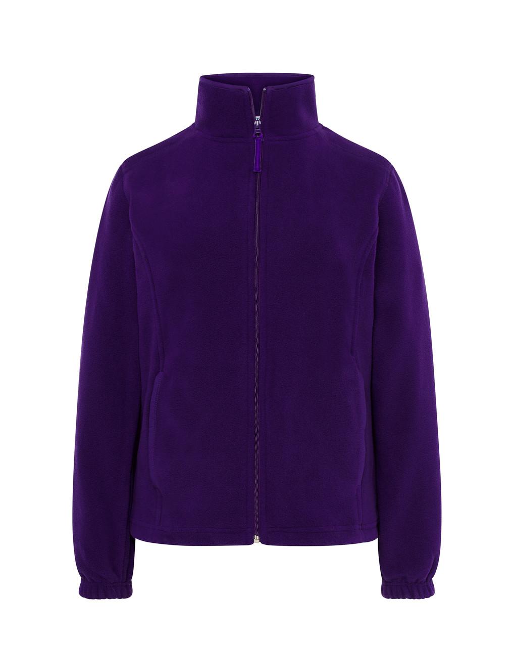Женская флисовая куртка JHK POLAR FLEECE LADY цвет фиолетовый (PU)