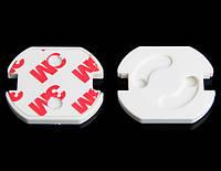 Заглушки для розеток от детей, защита от поражения током для детей (евророзетки), фото 1