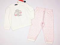 Пижама Original Marines для девочки 86 см бело-розовая Италия ASI1781NA