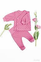 Zironka Костюм (распашонка, ползунки) розовый для девочки 64-9017-2