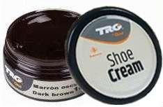 Крем для обуви темно-коричневый из гладкой кожи TRG Shoe Cream, 50 мл
