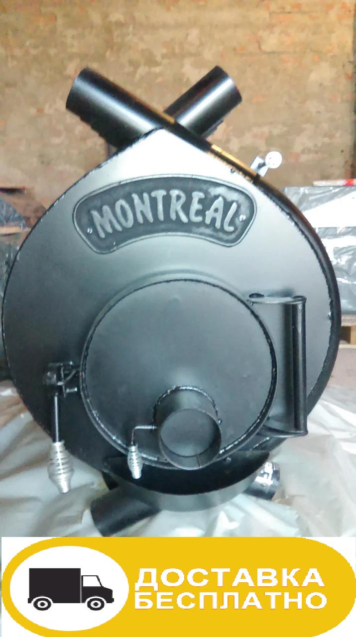 Отопительная печь тип 02 (400м.куб) – MONTREAL, Канадская печь. Доставка+скидка