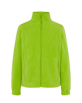 Жіноча флісова куртка JHK POLAR FLEECE LADY колір салатовий (LM)