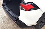 Пластиковая защитная накладка на задний бампер Toyota RAV-4 2018+, фото 2