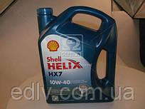Масло моторное SHELL Helix HX7 SAE 10W-40  (Канистра 4л)