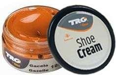 Крем для обуви янтарно-коричневый из гладкой кожи 109 TRG Shoe Cream, 50 мл