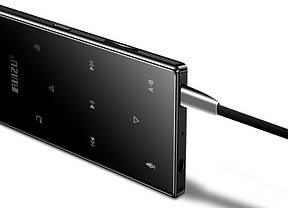 MP3 Плеер RuiZu D29 4Gb Hi-Fi Original Черный + карта памяти microSD 16Gb, наушники и чехол мешочек, фото 3