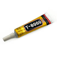 Клей-герметик T-8000 15гр., с дозатором (для тачскринов, электроники)