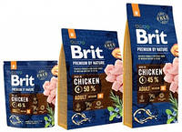 Корм Brit Premium by Nature Adult М Брит Преміум едалт дог М для собак (НА ВЕС)