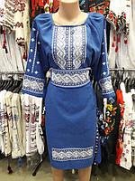 """Вышиванка,платье женское """"Белый орнамент"""""""