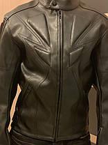 Мотокуртка кожа Dainese защитная Куртка для мото, фото 2