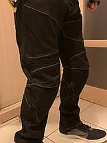 Защитные мотоджинсы komine rjp slim pk-718 black, фото 3