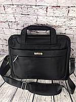 Мужская сумка- портфель. Нейлон. Отличное качество. Сумка для ноутбука, документов.КС56