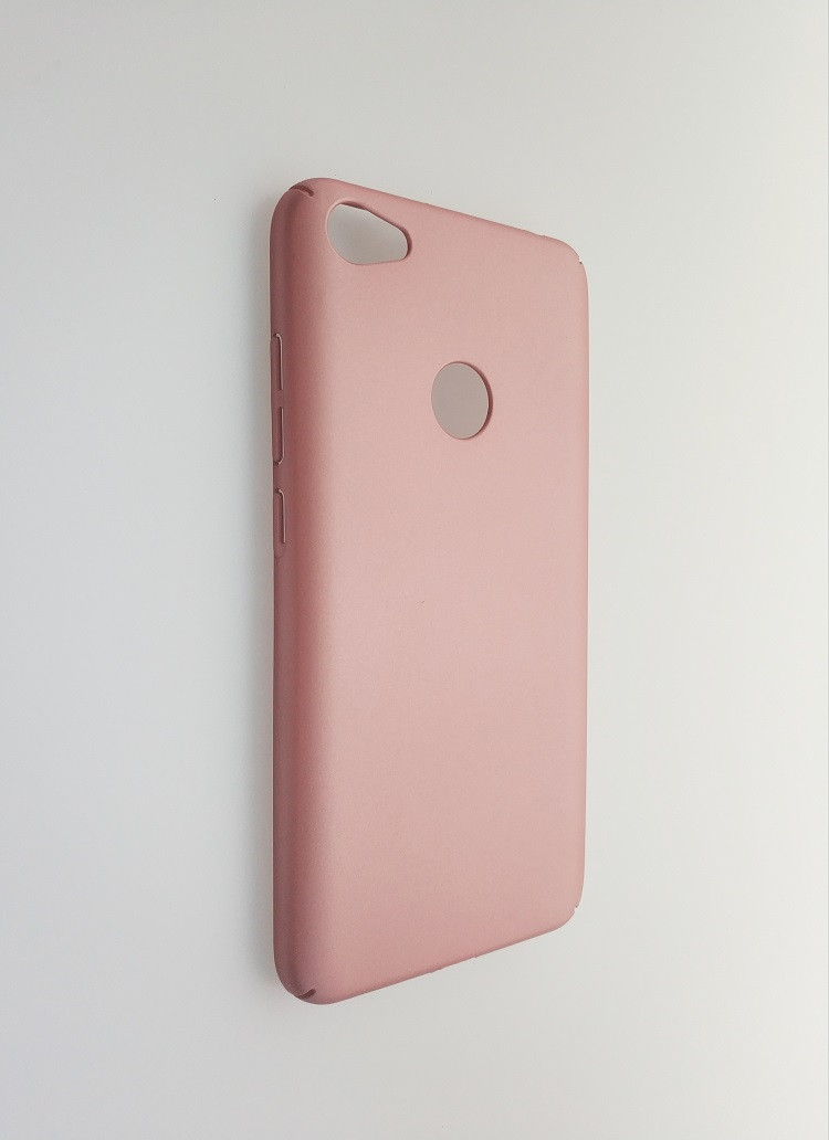 Чехол-накладка INCORE Four Edges PC для Xiaomi Redmi Note 5A Prime Rose Gold (PC-002084)