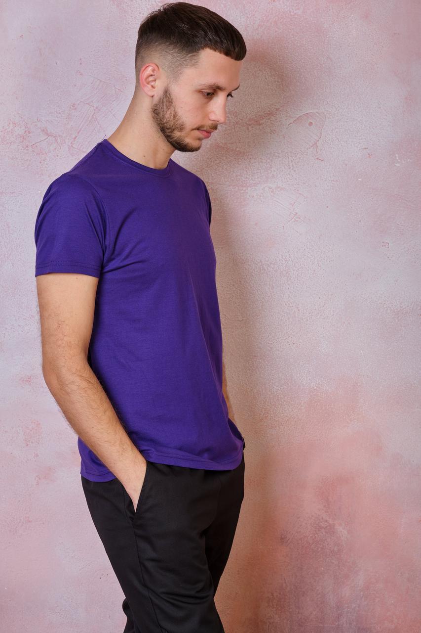 Мужская футболка JHK REGULAR T-SHIRT цвет фиолетовый (PU)