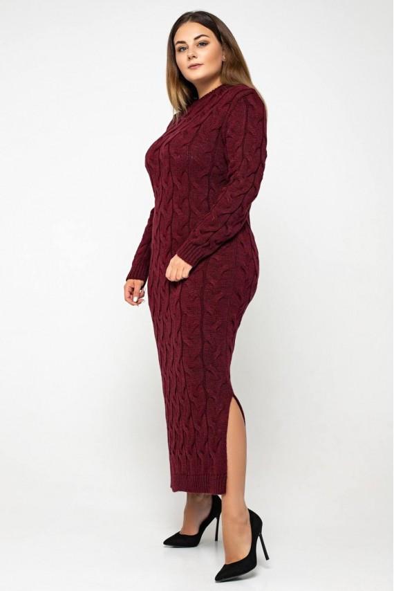 В'язане ботальное сукня максі з 42 по 56 розмір