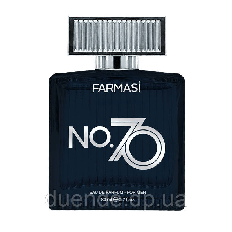 Мужская парфюмированная вода NO.70 Farmasi пр-ва Турция 80 мл - 9,98 бб / Far - 1107484