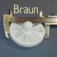 Шестерня (CL-06 / XF-16 / F-5) для мясорубки Braun 67000898 (Z=104; z=9; D=83; d=20; H=34)