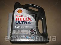 Масло моторное SHELL Helix Ultra ECT С3 5W-30 SN/CF (Канистра 4л)