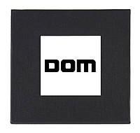 Черная подарочная картонная коробка DOM для наручных часов
