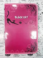 Папка для труда с глитером  Мультяшки 7871 Black Cat