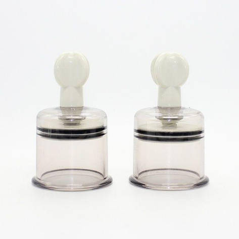 Зажимы для сосков белые, L размер, фото 2