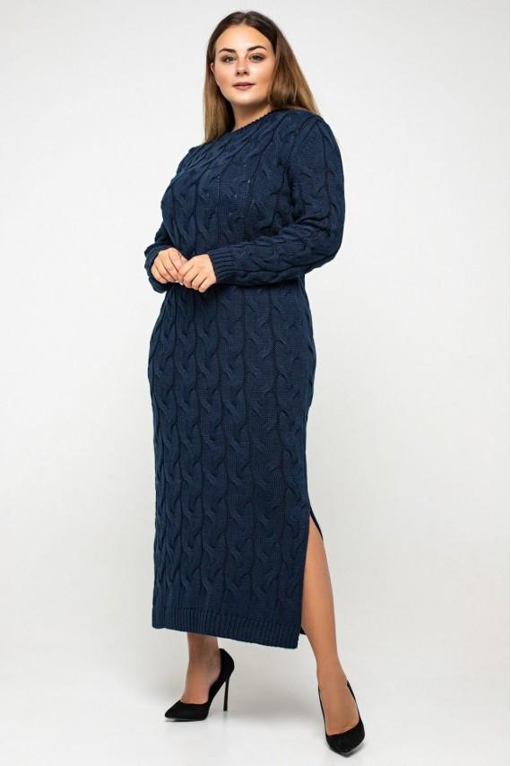 В'язане плаття максі з 42 по 56 розмір