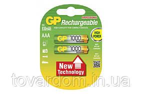 Аккумуляторная батарейка GP Professional 1000мА AAA