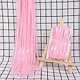 Дощик штора для фотозон макарун рожевий 1*2 м, фото 2