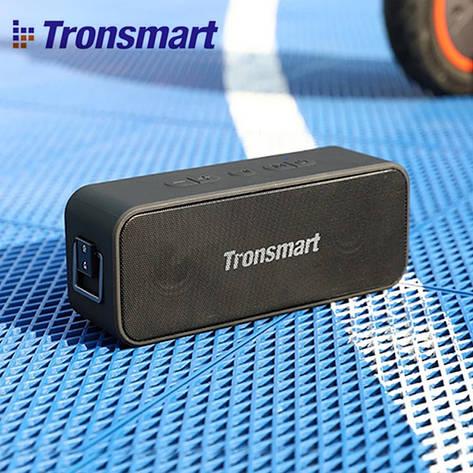 Беспроводная Bluetooth колонка Tronsmart Element T2 Plus T2+ водонепроницаемая Black, фото 2