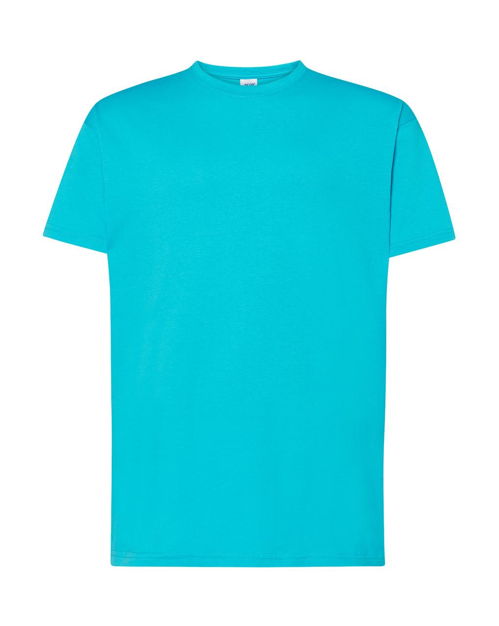 Мужская футболка JHK REGULAR T-SHIRT цвет бирюзовый (TU)