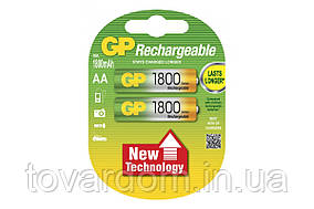 Аккумуляторная батарейка GP Professional 1800мА AA