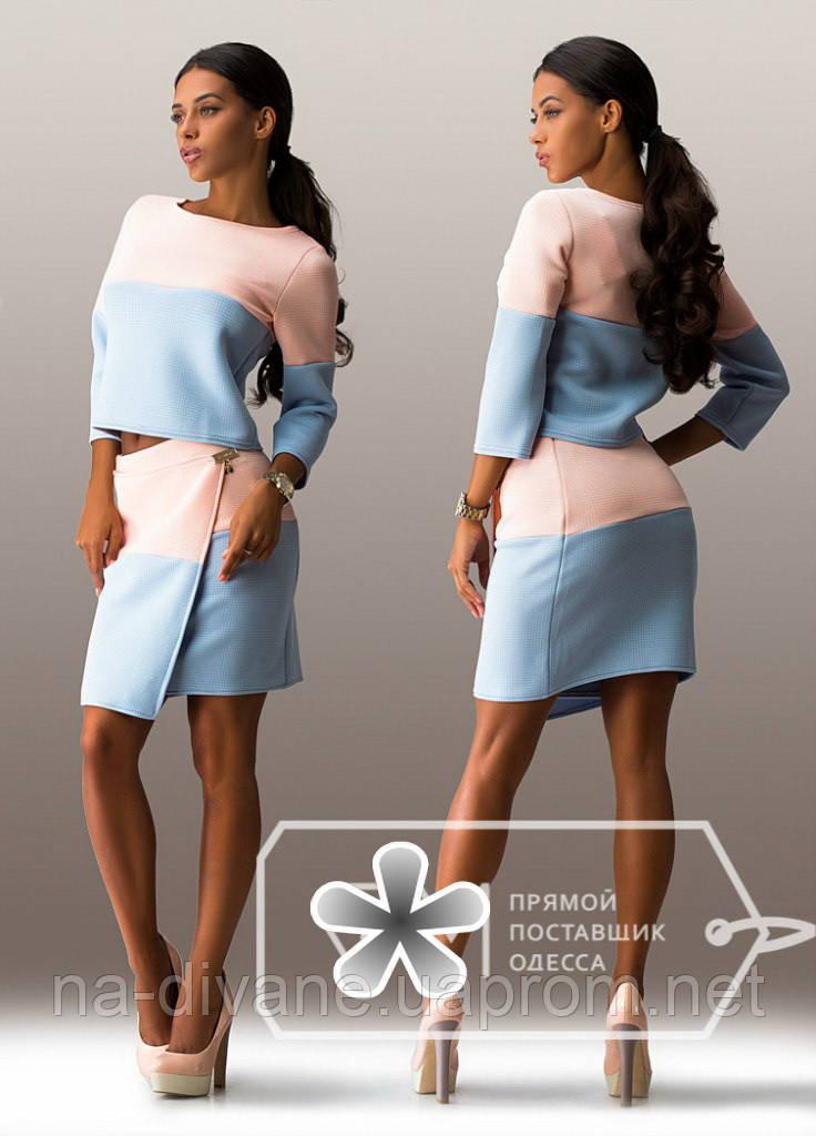 костюм женский с юбкой 783 неопрен цена 365 грн купить в