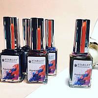 Акварельные капли Starlet Professional, набор 4+1 по 12мл